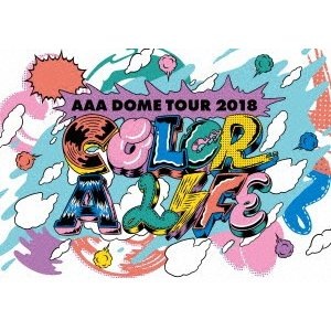 <DVD> AAA / AAA DOME TOUR 2018 COLOR A LIFE<br&...