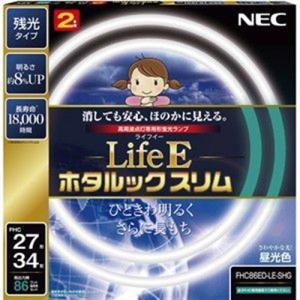 NEC FHC86ED-LE-SHG 27形+34形丸形スリム蛍光灯 昼光色 LifeE ホタルックスリム|yamada-denki