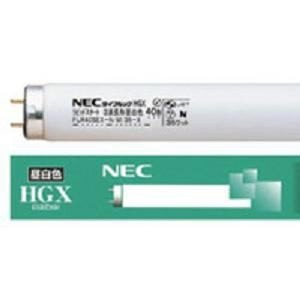 NEC FL40SSEX-N/37-X ライフルックHGX 直管蛍光ランプ40形 3波長形 昼白色 口金G13 3740lm|yamada-denki