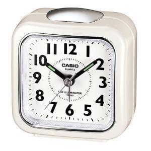カシオ TQ-157-7BJF 置き時計 LEDライト付きトラベルクロック|yamada-denki