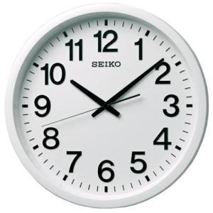 セイコークロック GP202W 衛星電波掛時計  白塗装|yamada-denki