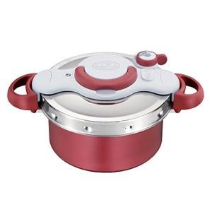 T-FAL P4604236 圧力鍋 「クリプソ ミニット デュオ」(4.2L) レッド|yamada-denki
