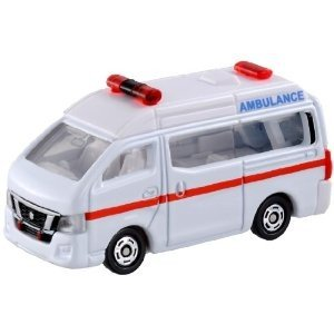 タカラトミー トミカ 018 日産 NV350 キャラバン 救急車|yamada-denki