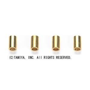 タミヤ 【ミニ四駆】AO-1023 2段アルミローラー用5mmパイプ(4本)|yamada-denki