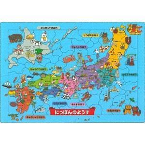 こども用パズル 75ピース ピクチュアパズル にっぽんのようす 26-619|yamada-denki