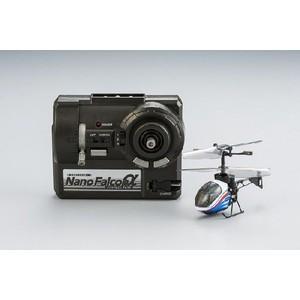 シー・シー・ピー 赤外線ヘリコプター ナノファルコンα メタリックブルー|yamada-denki
