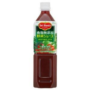 デルモンテ 食塩無添加 野菜ジュース 900g|yamada-denki