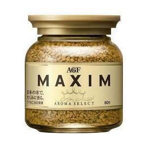 AGF マキシム インスタントコーヒー 瓶 ( 80g )|yamada-denki