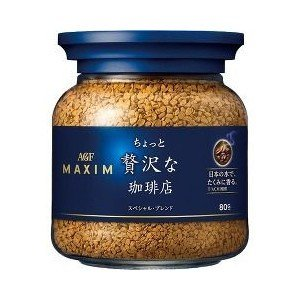 AGF マキシム ちょっと贅沢な珈琲店 インスタントコーヒー スペシャルブレンド 瓶 ( 80g )|yamada-denki