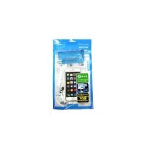 (株)ミック MM18-EX-2002-3 スマートフォン用防水ケース EX-CASE  ブルー|yamada-denki