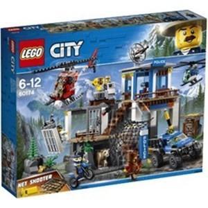 レゴジャパン LEGO(レゴ) 60174 シティ 山のポリス指令基地|yamada-denki