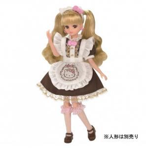 タカラトミー リカちゃんドレス ハローキティ スイーツカフェ ドレスセット|yamada-denki