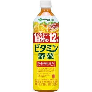 伊藤園 野菜・果汁ミックスジュース PET ビタミン野菜 930g