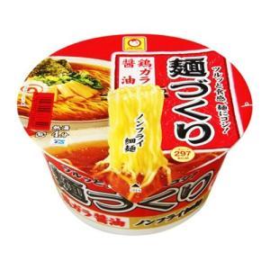 東洋水産 マルちゃん 麺づくり 鶏ガラ醤油 カップ 97g<br>862