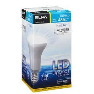 ELPA(エルパ)  LDR6D-H-G600  LED電球 40W形 E26口金 昼光色 屋内用 レフ球|yamada-denki