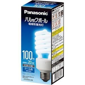 パナソニック EFD25ED20E 電球形蛍光灯 「パルックボール」(電球100WタイプD形・クール色)|yamada-denki