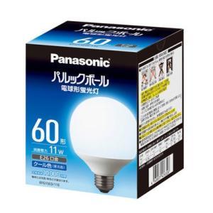 パナソニック EFG15ED11E 電球形蛍光灯 「パルックボール」(G形) クール色|yamada-denki
