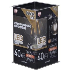 アイリスオーヤマ LDA4L-G/D-FC LED電球 E26口金 電球色 485lm(40W形相当)|yamada-denki