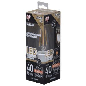 アイリスオーヤマ LDC4L-G-E17/D-FC LED電球 E17口金 電球色 450lm(40W形相当)|yamada-denki