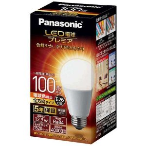 パナソニック LDA13LGZ100ESW LED電球プレミア 12.9W(電球色相当)|yamada-denki