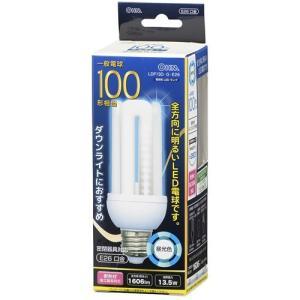 オーム電機 LDF13D-G-E26 LED電球 D形 E26 100形相当 昼光色|yamada-denki