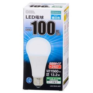 オーム電機 LDA13N-G-AG5A LED電球 一般電球形 E26 100W形相当 昼白色|yamada-denki