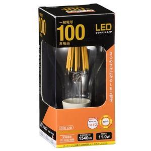 オーム電機 LDA12L C6 LED電球 フィラメント E26 100形相当|yamada-denki