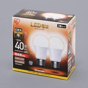 アイリスオーヤマ LDA5L-G-4T52P LED電球 一般電球形 485lm(電球色相当)|yamada-denki