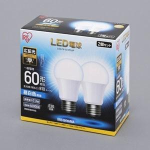 アイリスオーヤマ LDA7N-G-6T52P LED電球 一般電球形 810lm(昼白色相当)  ECOHILUX|yamada-denki