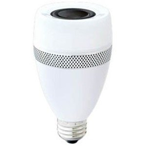 アイリスオーヤマ LDF11L-G-4S スピーカー機能付調光器非対応LED電球 「エコハイルクス」(全光束485lm/電球色相当・口金E26)|yamada-denki