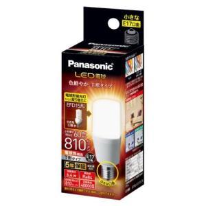 パナソニック LDT6LGE17ST6 LED電球 T形タイプ E17 60形相当 810lm 電球色相当 断熱材施工器具・密閉型器具対応|yamada-denki