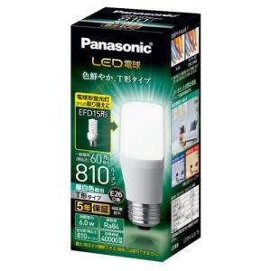 パナソニック LDT6NGST6 LED電球 T形タイプ E26 60形相当 810lm 昼白色相当 断熱材施工器具・密閉型器具対応|yamada-denki