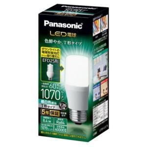 パナソニック LDT8NGST6 LED電球 T形タイプ E26 60形相当 1070lm 昼白色相当 断熱材施工器具・密閉型器具対応|yamada-denki