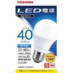 東芝 LDA4D-G/K40V1 LED電球 広配光 昼光色 40W形相当<br>071