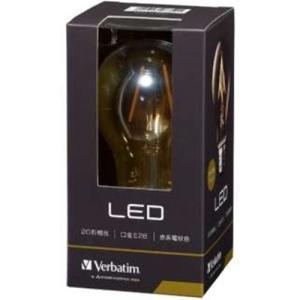 三菱ケミカルメディア LDA2R-G/FAV1 調光器非対応LED電球 アンバー 「バーベイタム」(一般電球形・全光束210lm/電球色相当・口金E26)|yamada-denki