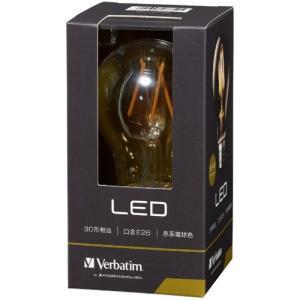 三菱ケミカルメディア LDA4R-G/FAV1 調光器非対応LED電球 アンバー 「バーベイタム」(一般電球形・全光束390lm/電球色相当・口金E26)|yamada-denki