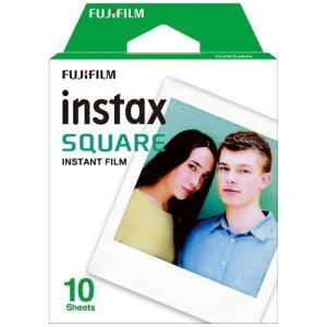 富士フイルム INSTAXSQUAREWW1 インスタントカラーフィルム「instax SQUARE」 10枚入り