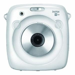 富士フイルム INSTAXSQUARESQ10W インスタントカメラ instax SQUARE S...
