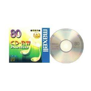 マクセル CD-RWA80MQ1TP 音楽用CD-RW80分 1枚 maxell|yamada-denki
