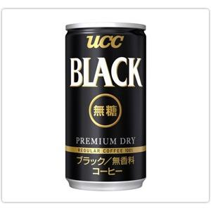 UCC ブラック無糖 185g缶|yamada-denki