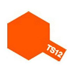 タミヤ タミヤカラースプレー TS12オレンジ yamada-denki