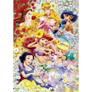テンヨー ディズニー フローラルプリンセス 300ピースジグソーパズル|yamada-denki