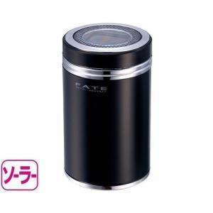 星光産業 ED-109 ソーラーメタルアッシュ BK   ブラック|yamada-denki