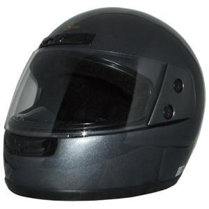 石野商会 FS−205B フルフェイスヘルメット FS−JAPAN 57cm〜60cm未満 ガンメタ|yamada-denki