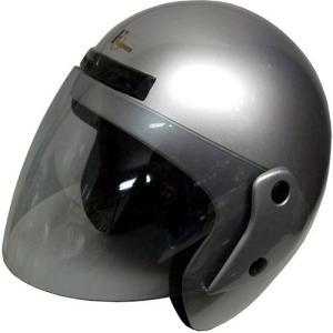 石野商会 FS−505B ジェットヘルメット FS−JAPAN 57cm〜60cm未満 シルバー|yamada-denki