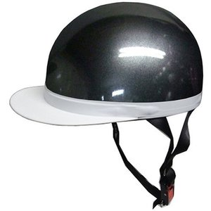 石野商会 FS−605B 白つばハーフヘルメット FS−JAPAN 57cm〜60cm未満 ガンメタ|yamada-denki