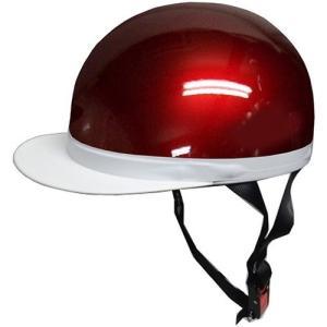 石野商会 FS−605B 白つばハーフヘルメット FS−JAPAN 57cm〜60cm未満 キャンディレッド|yamada-denki