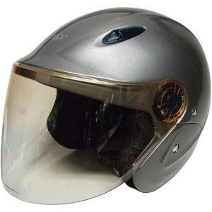 石野商会 MAX−207B セミジェットヘルメット MAXbikers 57cm〜60cm未満 チタン|yamada-denki