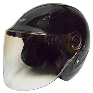 石野商会 MAX−207B セミジェットヘルメット MAXbikers 57cm〜60cm未満 ブラック|yamada-denki