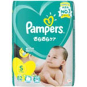 P&G パンパース さらさらケア テープ Sサイズ 82枚 【日用消耗品】|yamada-denki